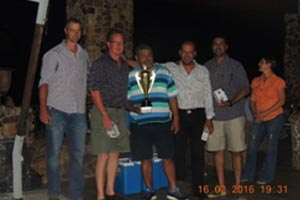 Winners of the Golf day Floating Trophy - Efekto