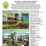 Garden Centre Competition 2015 Results